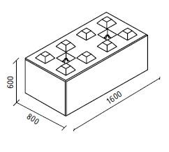 BLOCK - bloki betonowe z zamkami